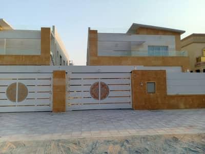 فیلا 5 غرف نوم للايجار في المويهات، عجمان - فيلا للايجار تشطيب شخصي بسعر ممتاز بعجمان منطقه قريبه من الشارع العام مساحة بناء كبيرة