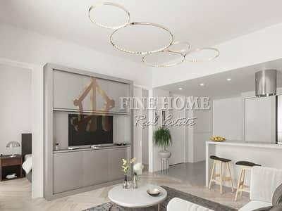 3 Bedroom Apartment for Sale in Masdar City, Abu Dhabi - Own this 3BR Duplex W/ Splendid Boulevard View