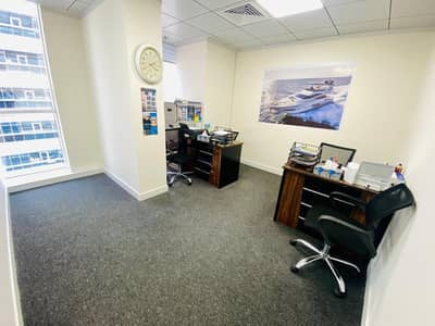 Office for Rent in Electra Street, Abu Dhabi - Well-Maintained  and Equipped Office Space in Perfect Place