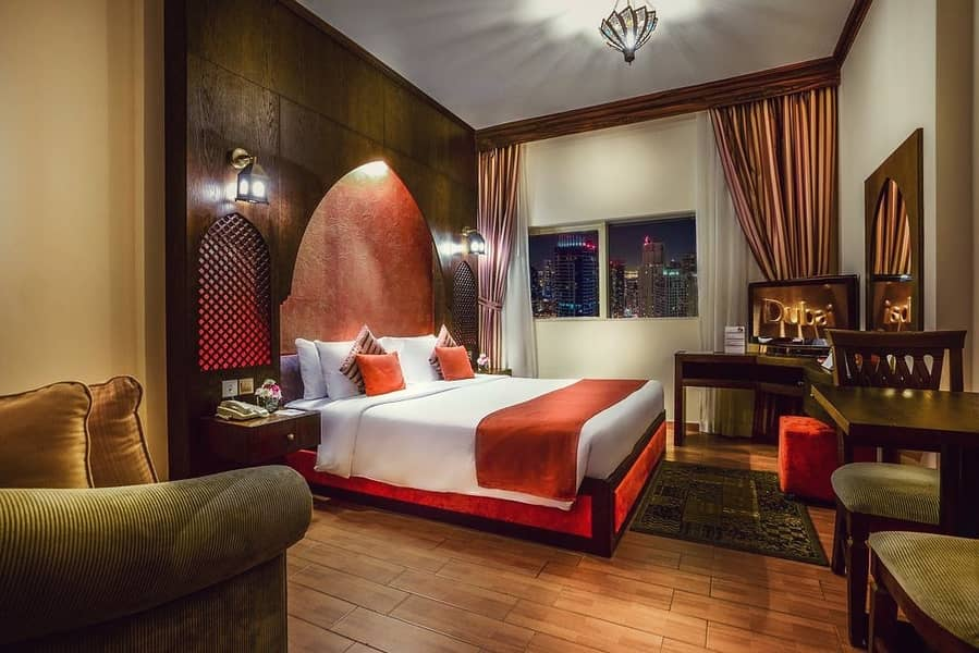Great Yearly Rate for Fully Furnished Classic Studio Suite First Central Hotel Suite