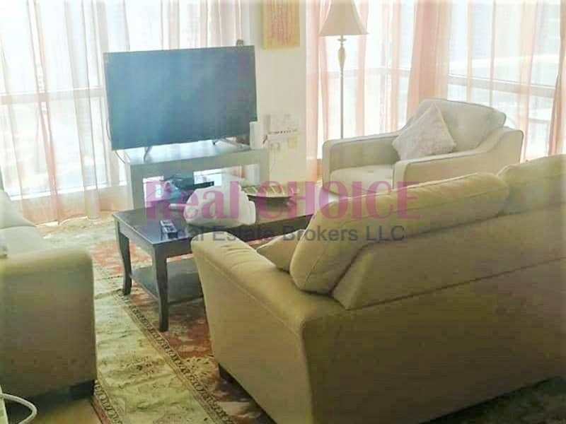 2 Fully Furnished | 2BR High Floor | Sea Views