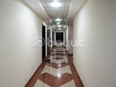 1 Bedroom Apartment for Rent in Emirates City, Ajman - 1 BHK with maid's room for rent 17000, Goldcrest dream tower, Emirates city, Ajman