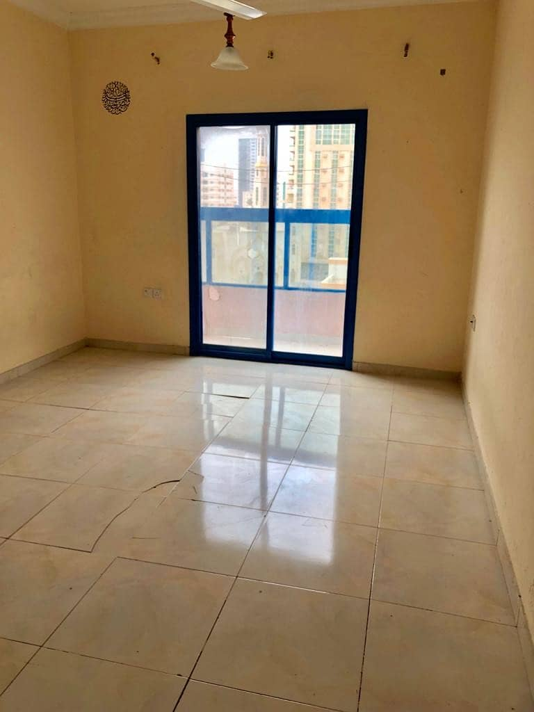 12 CHEQUES MONTH FREE OFFER !! 1BHK FOR RENT IN AL RASHIDIYA 2 JUST OPPOSITE FALCON TOWER