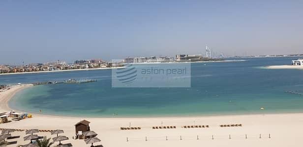 فلیٹ 1 غرفة نوم للايجار في نخلة جميرا، دبي - Full Sea View   Unfurnished  1 Bedroom   Vacant