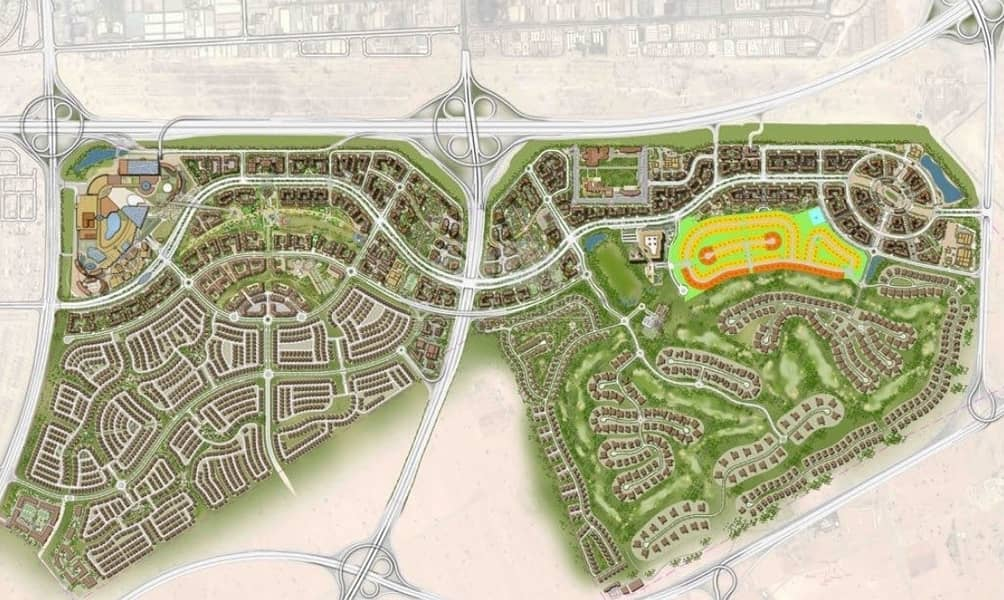 2 Luxury Plots - Dubai Hills - The Parkway