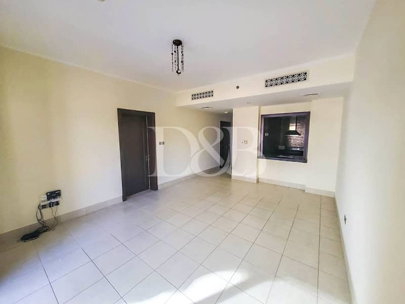 2 Full Burj View | Unfurnished | Two Bedrooms
