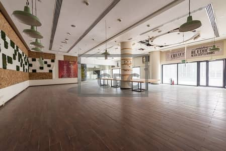 Shop for Rent in Dubai Media City, Dubai - Fitted | Restaurant | Media City | High Power and Gas