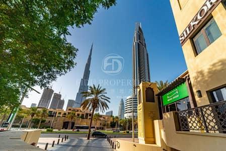شقة 1 غرفة نوم للايجار في المدينة القديمة، دبي - Rent Now 1 Bedroom with view of Downtown