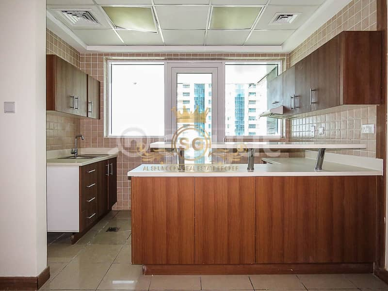 2 Spacious 2 bedrooms apartment for rent in Sulafa Tower