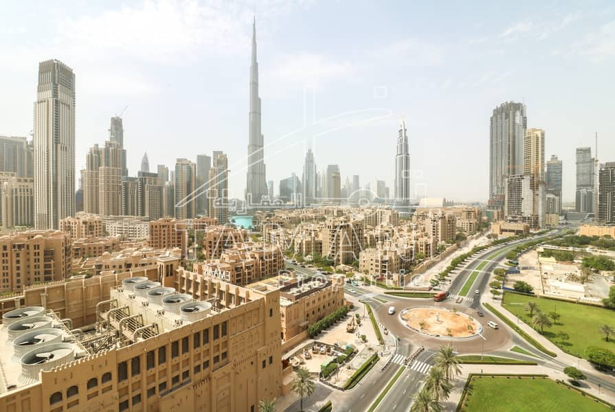 2 Full Burj Khalifa View Upgraded Large 3BR