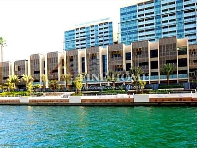 تاون هاوس 4 غرف نوم للبيع في شاطئ الراحة، أبوظبي - Canal View 4BR Townhouse with Pool