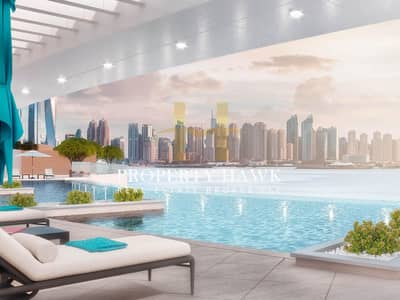 3 Bedroom Apartment for Sale in Palm Jumeirah, Dubai - Full Sea View | Luxury 3 BR with Beach Access