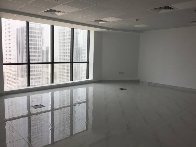 Open Concept Well fitted office in Business Bay