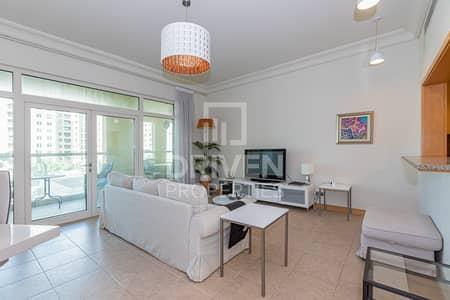 شقة 2 غرفة نوم للايجار في نخلة جميرا، دبي - Fully Furnished and Spacious 2 Bedroom Apt