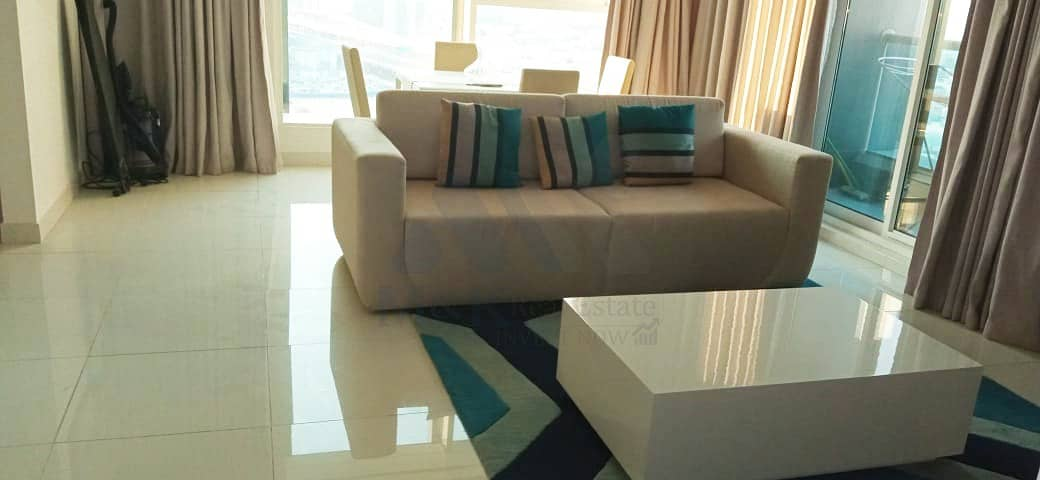 Fully Furnished 1 Bedroom in Damac Vogue   Canal View