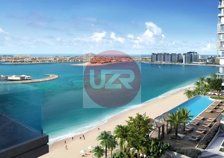 Sea View | Beach front | 50% DLD Waiver