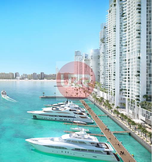 8 Sea View | Beach front | 50% DLD Waiver