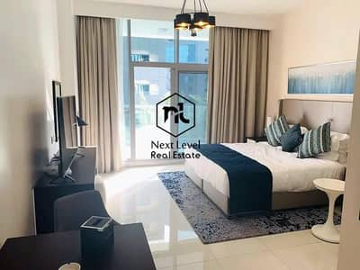 Studio for Sale in Business Bay, Dubai - Vacant Furnished Studio Unit of 532 Sq Feet | Green View & Big Balcony