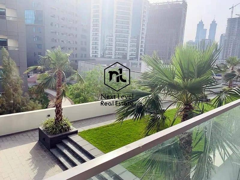 11 Vacant Furnished Studio Unit of 532 Sq Feet | Green View & Big Balcony
