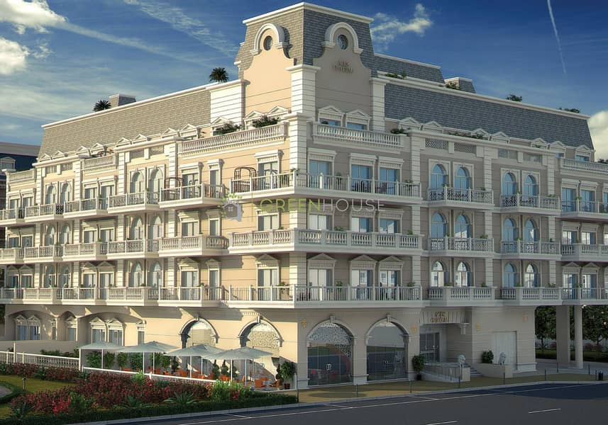 24 Premium Quality 1 Bedroom + Maid Apt | Balcony with Garden | ACES Chateau