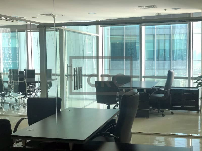 15 Fully Furnished Office | Low Price | Emirates Financial Tower