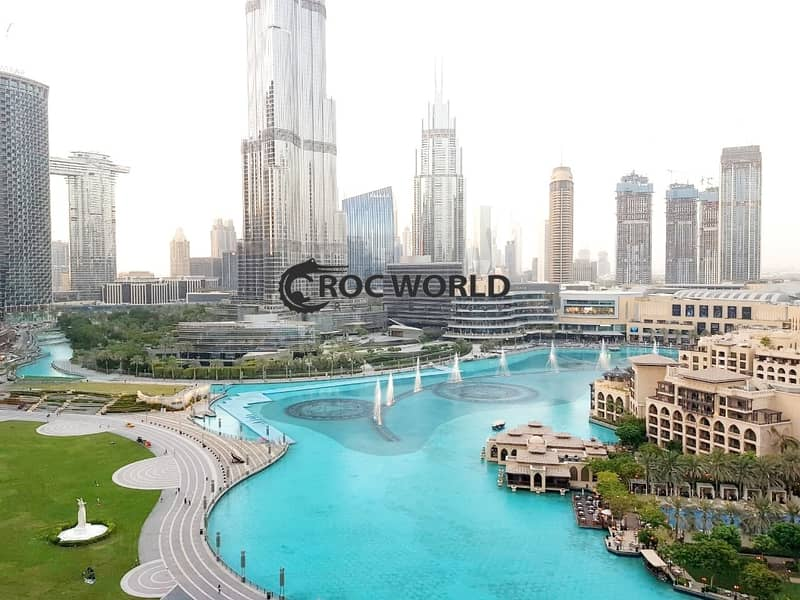 28 3 Bed+Maids | Fully Furnished | Burj Khalifa & Fountain View