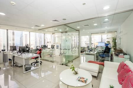 Office for Sale in Jumeirah Lake Towers (JLT), Dubai - Fitted Office | Mid Floor | Parking | DMCC