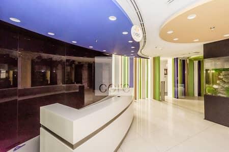 طابق تجاري  للايجار في أبراج بحيرات الجميرا، دبي - Full Floor | Fitted Office with Partitions