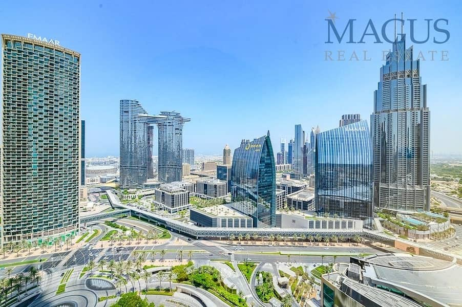 Spectacular 2br + study in Worlds tallest tower