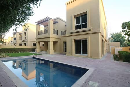 4 Bedroom Villa for Rent in Emirates Golf Club, Dubai - Golfers Dream!  Amazing Offers |Private Pool| Meticulously Renovated