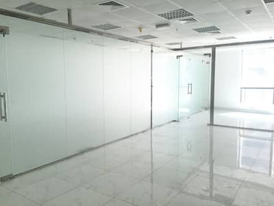 Fitted Office with Partition Close to Metro