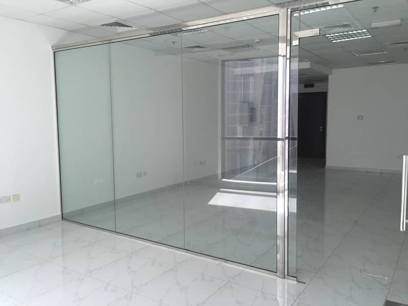 2 Fitted Office with Partition Close to Metro
