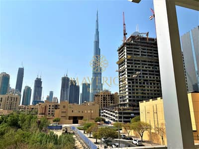 1 Bedroom Apartment for Rent in Downtown Dubai, Dubai - Burj View | Chiller Free | Huge 1BR+Terrace
