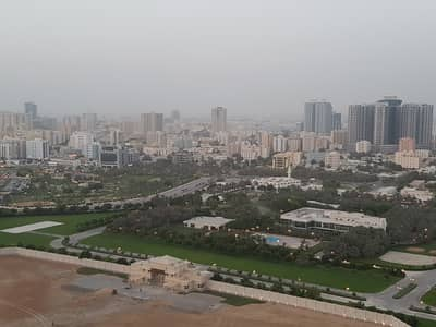 1 Bedroom Apartment for Sale in Al Nuaimiya, Ajman - STYLISH FULL PALACE VIEW BIGGEST SIZE 950 SQFT ONE BEDROOM PLUS HALL APARTMENT FOR SALE IN CITY TOWERS WITH FREE CHILLER AC AND HIGHER FLOOR ONLY FOR 255000