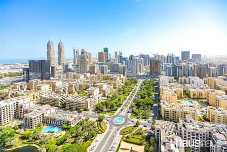 فلیٹ 1 غرفة نوم للايجار في ذا فيوز، دبي - 898 Sq.Ft | Available Now | Burj And Lake Views |