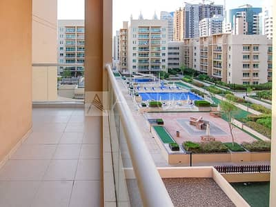 2 Bedroom Flat for Rent in The Greens, Dubai - Chiller Free | Semi Furnished | Vacant now