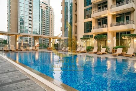 شقة 2 غرفة نوم للبيع في وسط مدينة دبي، دبي - Fully Furnished & Spacious   Vacant   Fountain View   2BR+2 Balconies