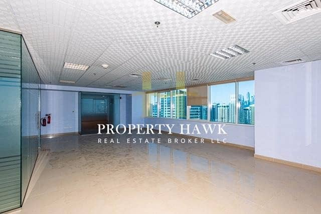 2 Fitted Office High Floor Prime Location lake view