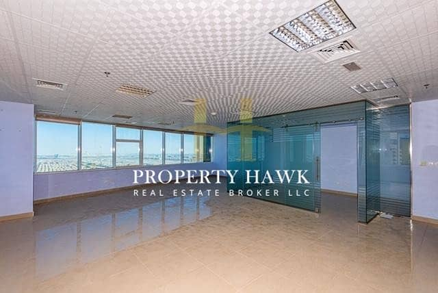 Fitted Office High Floor Prime Location lake view