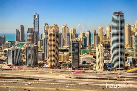 1 Bedroom Apartment for Sale in Jumeirah Lake Towers (JLT), Dubai - One Bed | Marina Skyline And Dubai Eye Views