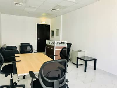 Office for Rent in Business Bay, Dubai - Practical Furnished Office | B2B Tower