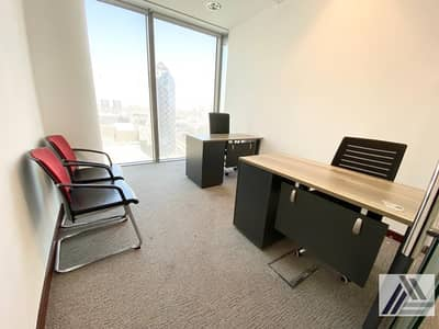 Brand New Customized Smart Private Offices at Burjuman Business Tower Linked with Metro With View