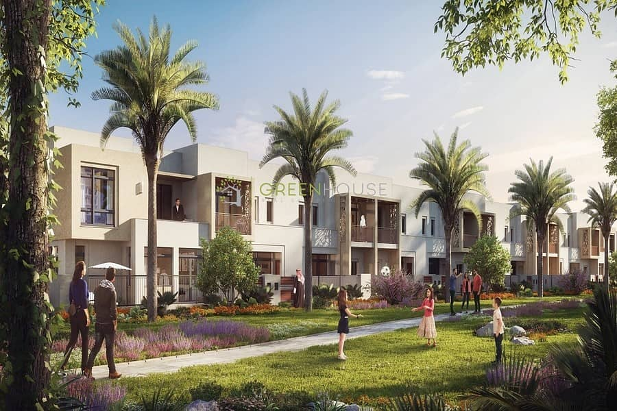 20 Fabulous Layout Bright 4 B/R+Maids Rm. Townhouses | Hayat Townhouse