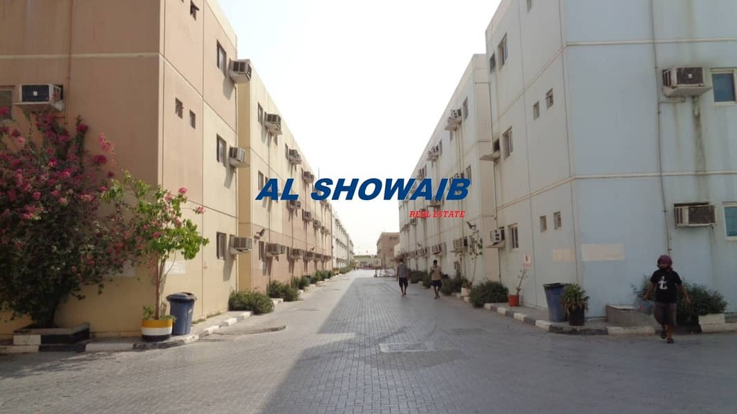 2 SYSTEM 1| LABOUR CAMP ROOM |1900 /-ALL INCLUSIVE | MONTHLY |AL QUOZ IND 2 |