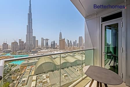 2 Bedroom Apartment for Sale in Downtown Dubai, Dubai - Best price I Full Burj and fountain view