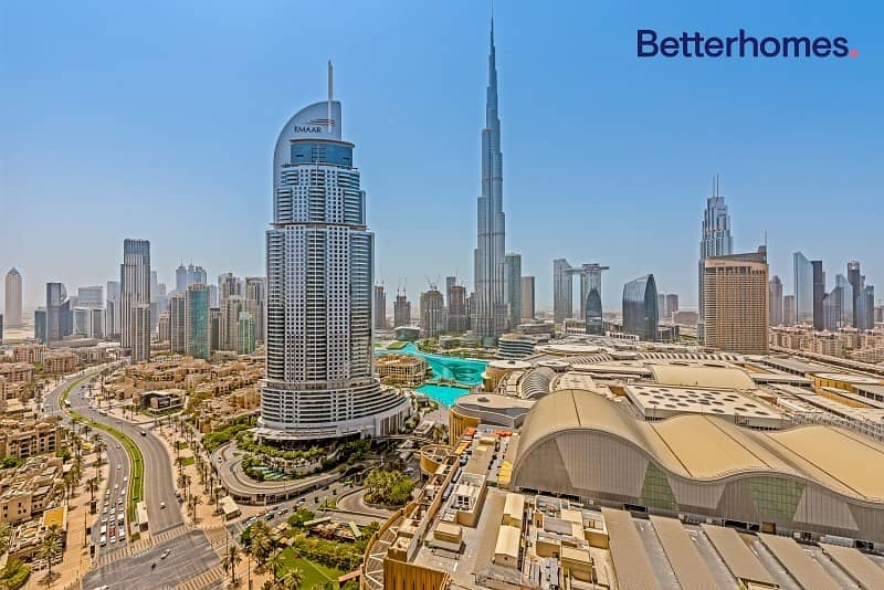 12 Best price I Full Burj and fountain view