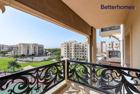 شقة 2 غرفة نوم للايجار في رمرام، دبي - Spacious 2 BR | Balcony | Garden View | Remraam