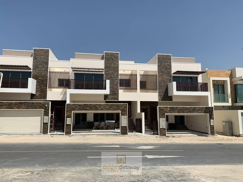 Exclusive Brand new 5BR+M TH for Sale in AL Furjan
