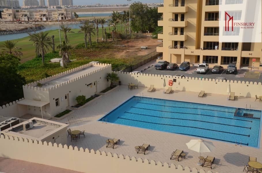 Spacious | Fully Furnished | One Bedroom | Huge Balconies