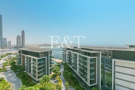 شقة 2 غرفة نوم للايجار في جزيرة بلوواترز، دبي - Exclusive 2 BR+Maids | Full Sea View | Unfurnished